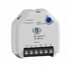 Механизм 3-жильного диммера BIRONI для светодиодных ламп 230В, 4-100/350Вт, 42*45*12мм,   для использования в комплекте с импульсными выключателями