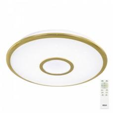 Люстра с пультом Citilux Старлайт R CL70382R светодиодная Золото